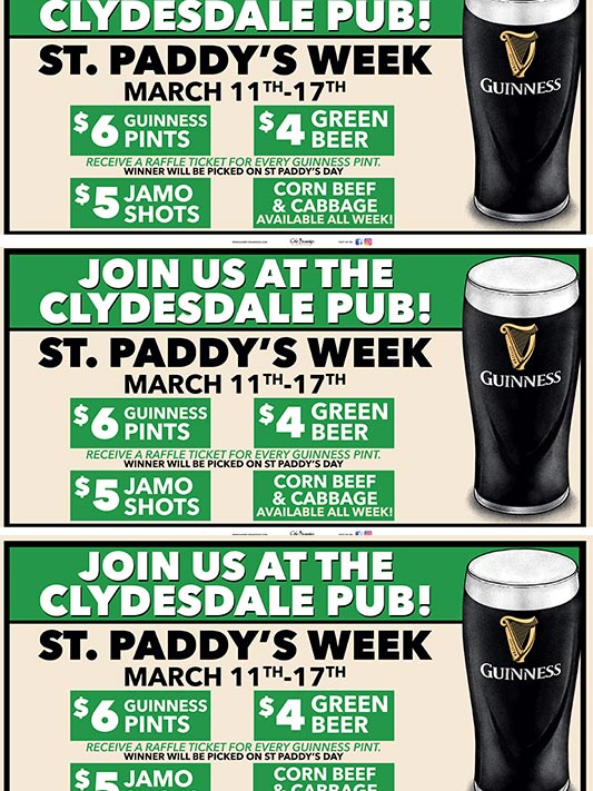 St. Paddy's Guinness Week