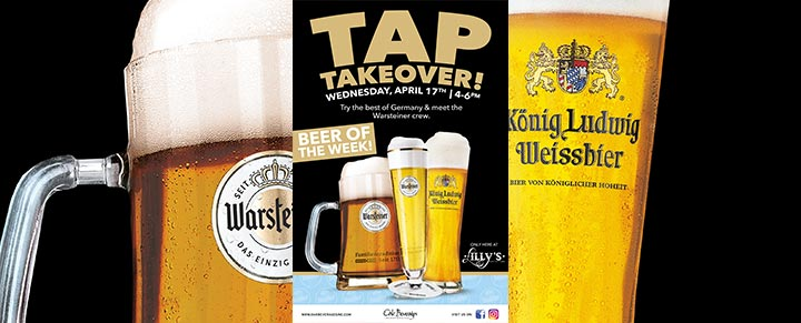 Warsteiner Tap Takeover at Lilly's Craft and Kitchen