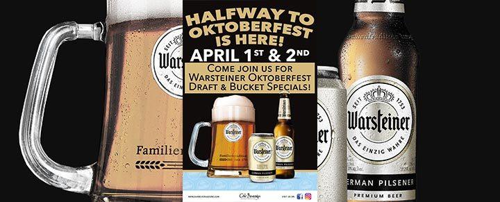 Warsteiner 35th Street Bar Crawl