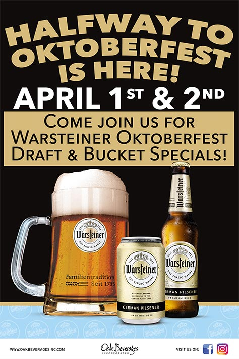Halfway to Oktoberfest at Reichenbach Hall