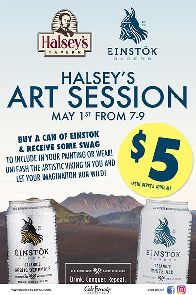 Halsey's Art Session with Einstok