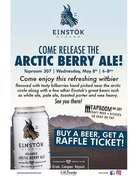 Taproom No.307 Einstok Release Party