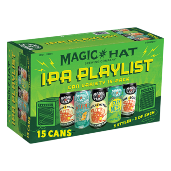 Magic Hat IPA Playlist Variety Pak Can