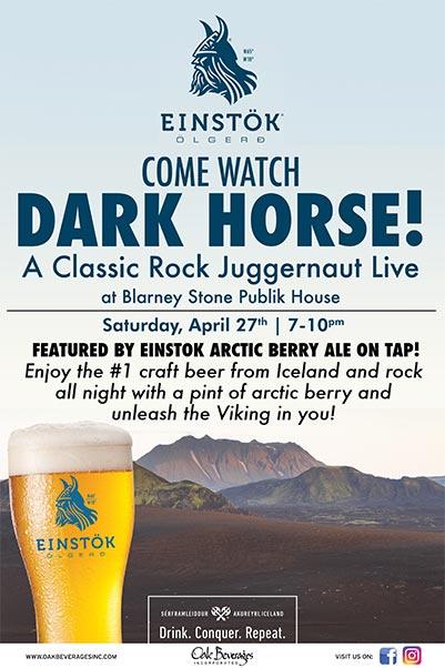 Einstok Presents Dark Horse at Blarney Stone