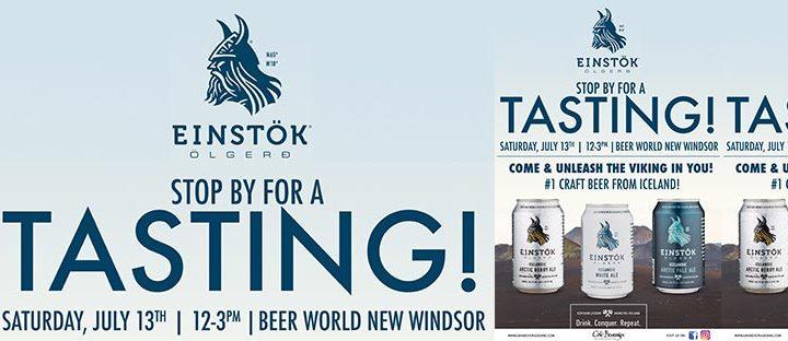 Einstok Tasting at Beer Word New Windsor
