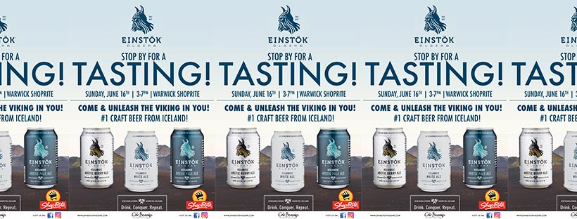 Shoprite Warwick Hosts Einstok Beer Tasting