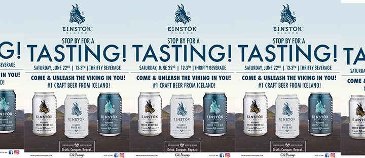 Einstok Tasting at Thrifty Beverage Poughkeepsie
