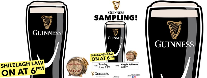 Maggie Spillane's Guinness Sampling