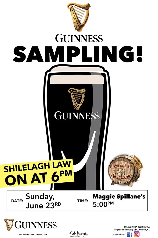 Aggie Spillane's Guinness Sampling
