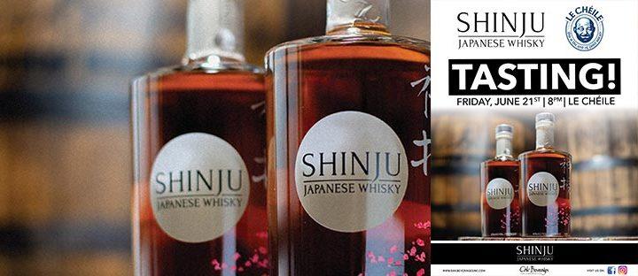 Le Cheile Hosts Shinju Whisky Tasting