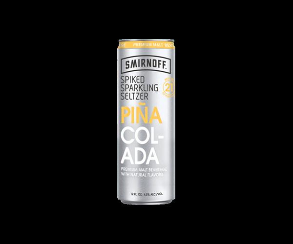 Smirnoff Spiked Sparkling Seltzer Pina Colada