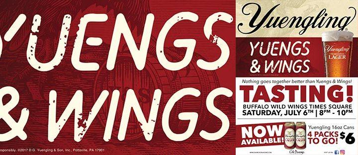 Yuengling Tasting Buffalo Wild Wings Times Square