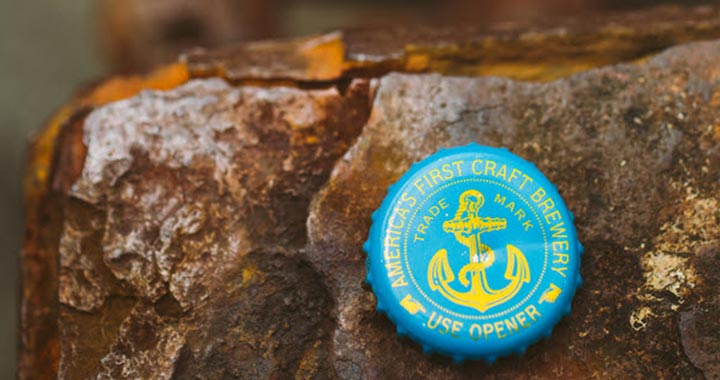 Limited-Edition Anchor Steam Artist Label