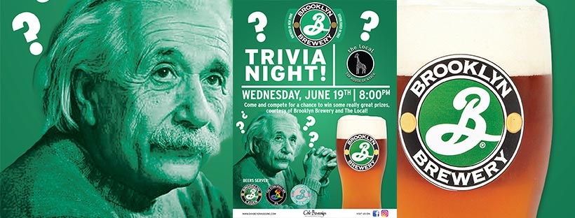 The Local of Nyack Brooklyn Brewery Trivia Night