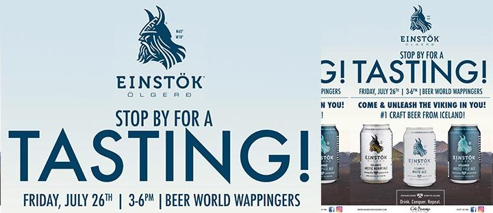 Beer World Wappingers Falls Einstok Tasting Event