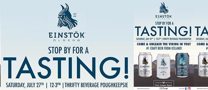 Thrifty Beverage of Poughkeepsie Einstok Tasting Event