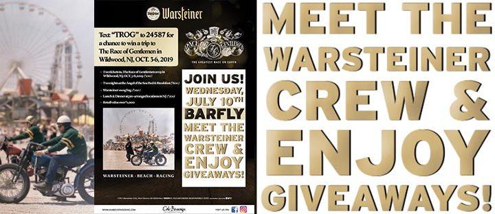 Barfly Hosts the Warsteiner Crew