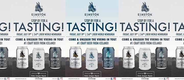 Einstok Tasting at Beer World Newburgh
