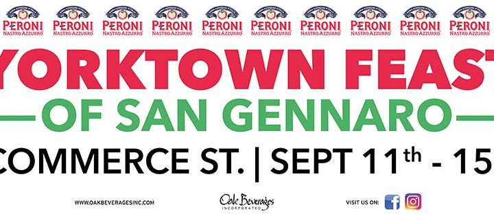 Peroni Sponsors The Yorktown Feast of San Gennaro