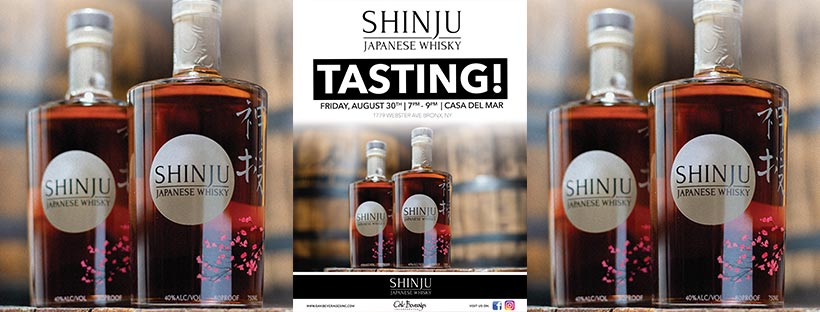 Casa Del Mar Shinju Whisky Tasting