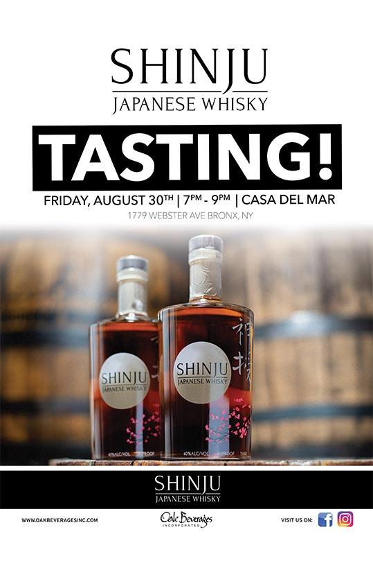 Casa Del Mar Shinju Whisky Tasting