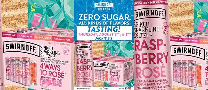 Jackie B's Smirnoff Rosé Tasting Event