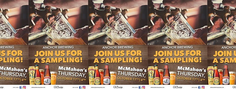 McMahon's Anchor Brewing Sampling Event