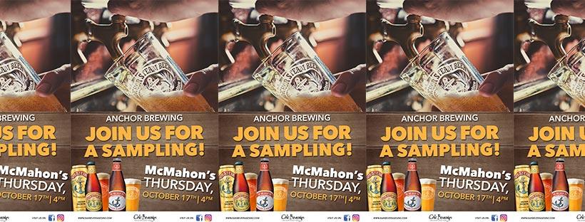 McMahon's Anchor Brewing Sampling Event