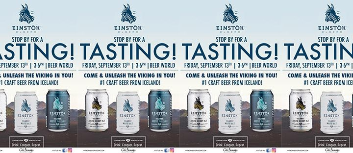 Einstok Tasting Event at Beer World Wappingers Falls