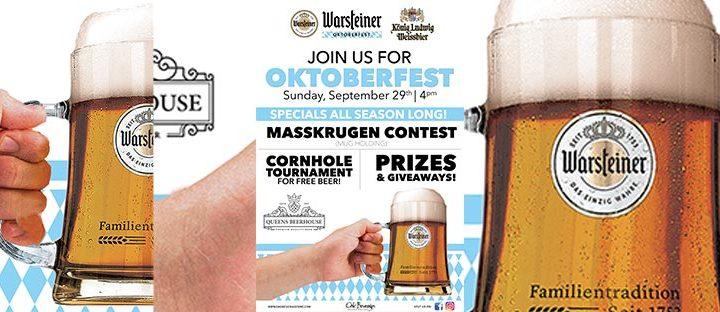 Queens Beerhouse Warsteiner Oktoberfest