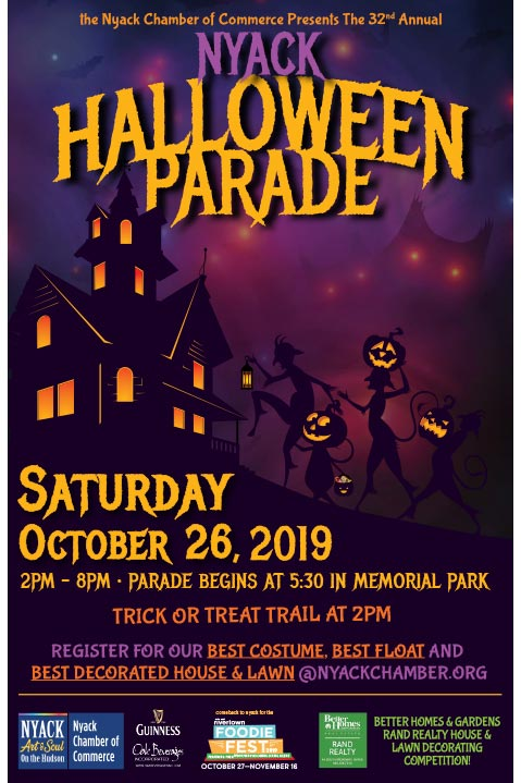 32nd Annual Nyack Halloween Parade