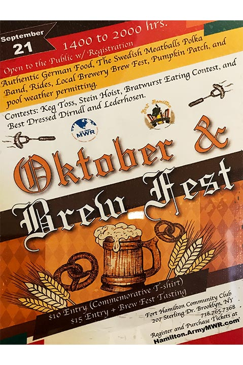 Fort Hamilton Oktober & Brew Fest