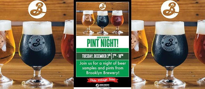 Brooklyn Brewery Pint Night