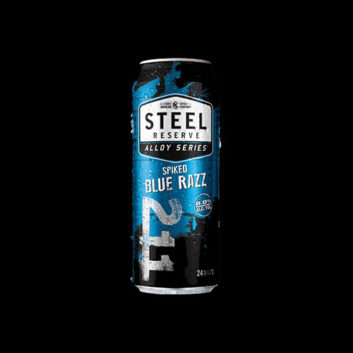 Steel Reserve Alloy Series Spiked Blue Razz