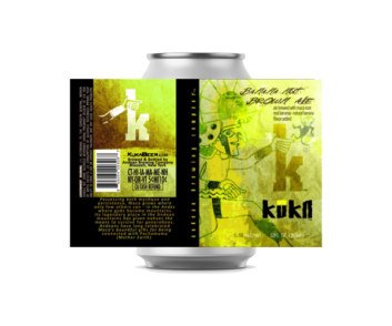 Kuka Beer Banana Nut Brown Ale