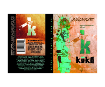 Kuka Beer Belgian Blonde