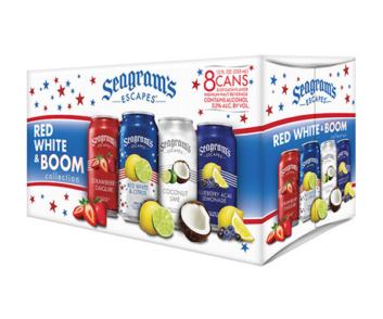 Seagrams Escapes Red White and Boom