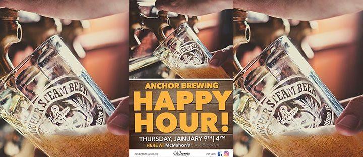 McMahon's Anchor Brewing Happy Hour