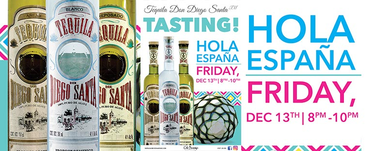 Don Diego Santa Tequila Tasting at Hola Espana