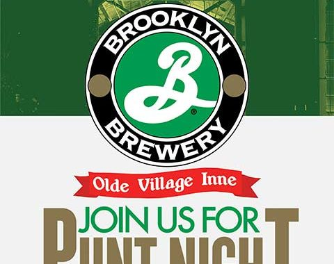 Olde Village Inne Brooklyn Brewery Pint Night