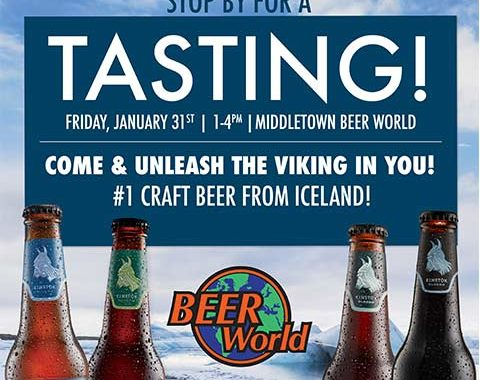 Einstok Tasting at Beer World Middletown