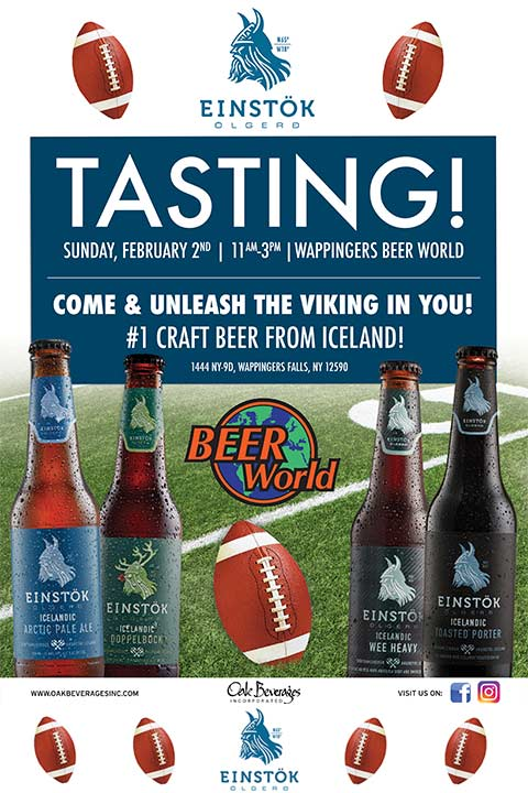 Einstok Tasting Event at Beer World