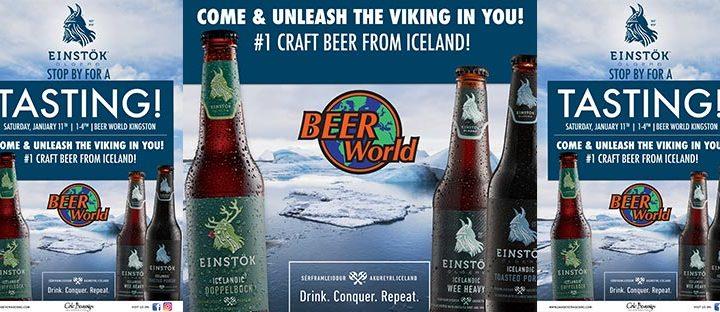 Einstok Tasting at Beer World Kingston