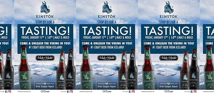 Iceland's Einstok Tasting at Malt & Mold