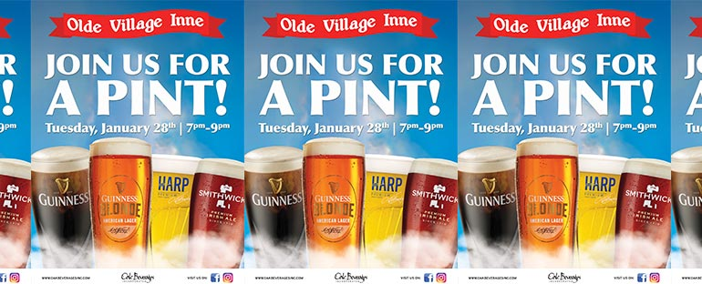 Guinness Pint Night at Olde Village Inne