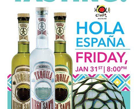Tequila Tasting Event at Hola Espana