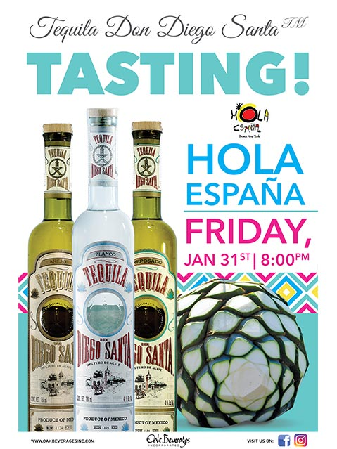 Tequila Tasting Event at Hola Espana