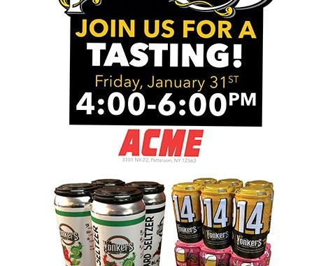 Acme Markets Yonkers Brewing Tasting