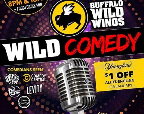 BDUBS Yuengling Wild Comedy