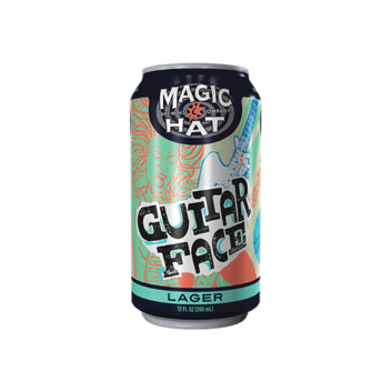 Magic Hat Guitar Face The Lager